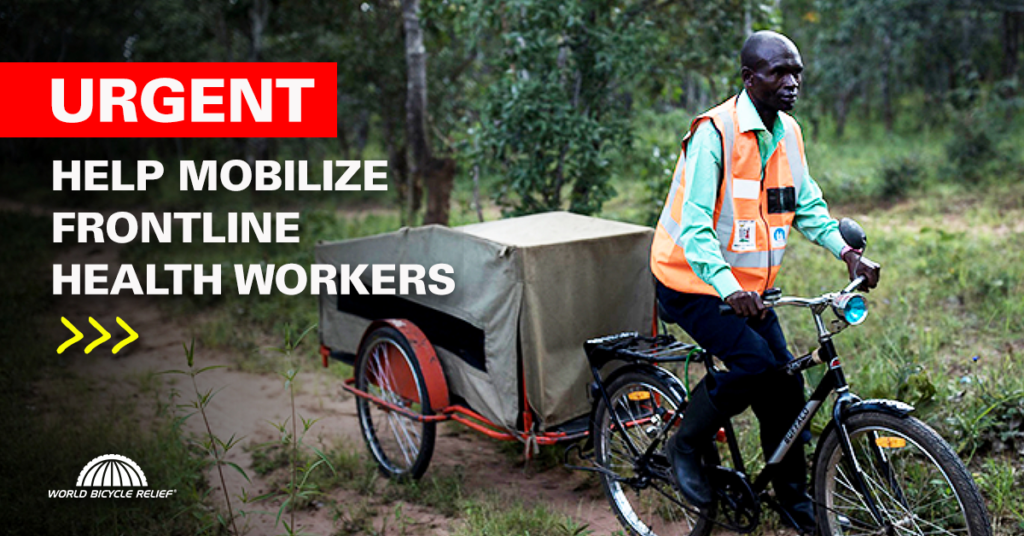 Help World Bicycle Relief fund 2,500 bikes for frontline healthcare workers